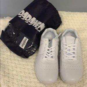 New White Cheerleading Shoes Size 40